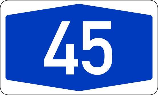 bundesautobahn_45_number-svg